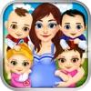 Mommy's Quadruplet Newborn Babies - My Baby Food Maker & Dentist Doctor Salon!