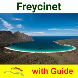 Freycinet National Park-GPS and outdoor map with guide