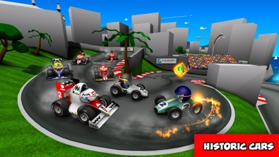 Screenshot from MiniDrivers - The game of mini racing cars