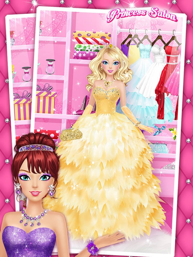 Princess Salon™ - Girls Makeup, Dressup and Makeover Games on the ...