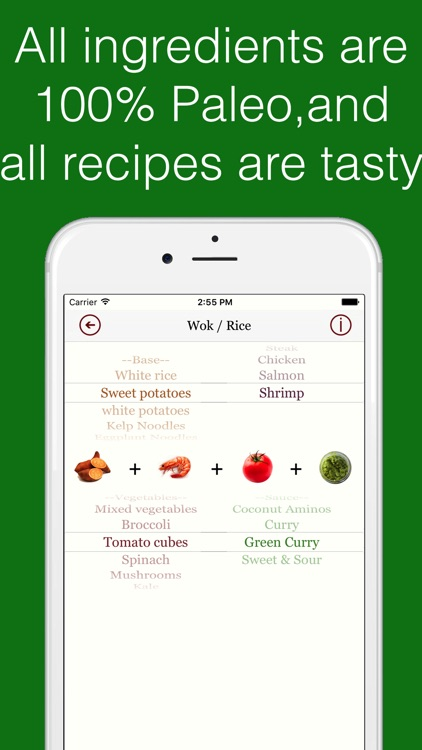 Paleo Dinner - Healthy Recipe Assistant screenshot-3