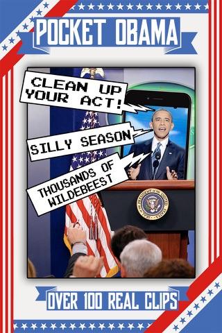 Pocket Obama: Soundboard of the 44th President! screenshot 1