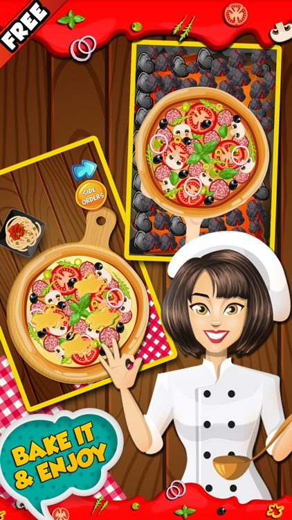Pizza Fever-Free fun cooking game for kids & girls