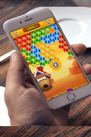 Crazy Bubble Popper Rescue Bird screenshot 1