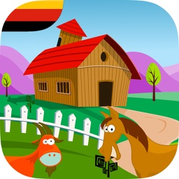 Adventure at the farm - game for children in German