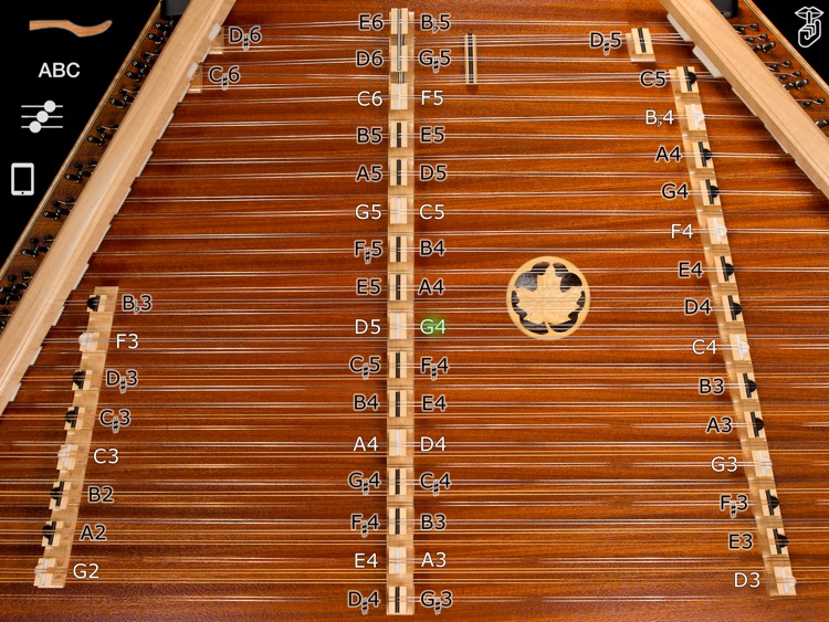D550 Chromatic Hammered Dulcimer - Dusty Strings Edition screenshot-0