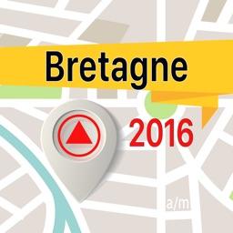 Bretagne Offline Map Navigator and Guide
