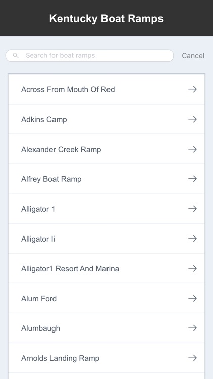 Kentucky Boat Ramps & Fishing Ramps screenshot-1