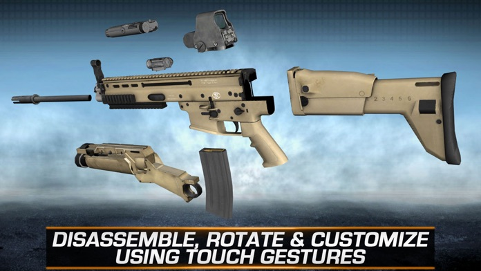 Gun Builder ELITE - Modern Weapons, Sniper & Assault Rifles Screenshot