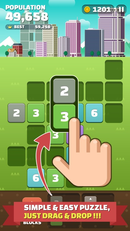 My Little Town [Premium] : Number Puzzle Game screenshot-0