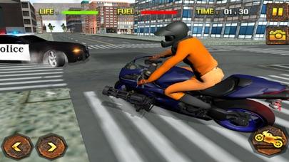 刑務所の脱出:交通警察チェイスバイクライダーのおすすめ画像3