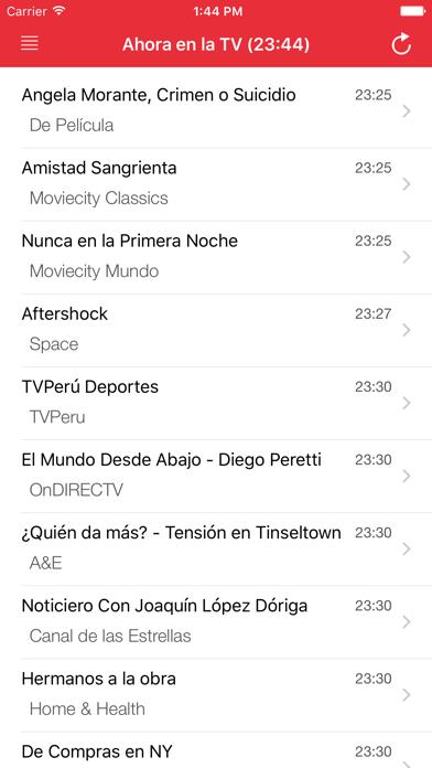 TV PerúCaptura de pantalla de2