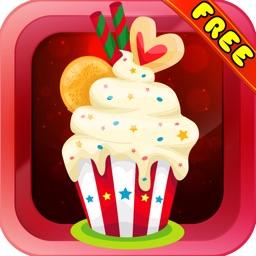 Cupcake Maneuver  : - A match 3 puzzles for Christmas season