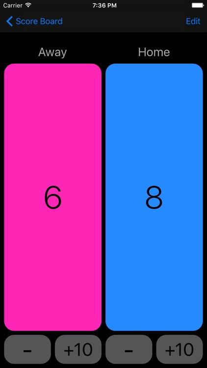 Score Board - Keep Score