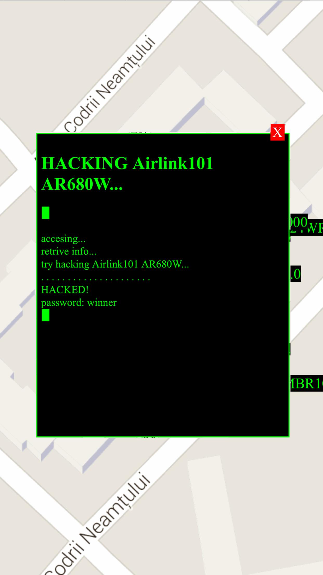 Wi-Fi passwords Screenshot