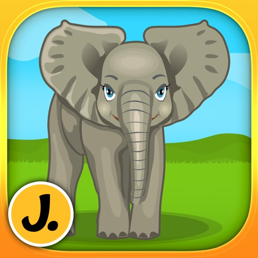 Jungle and Rainforest Animals 2: puzzle game for little girls, boys and preschool kids