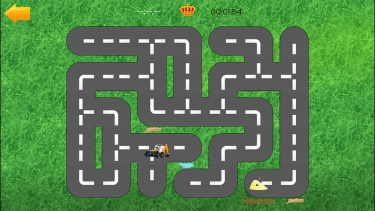 Cars road maze - funny free educational shape matching game for kids, boys, toddlers and preschool screenshot-3