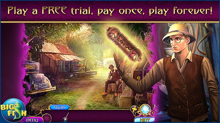 Amaranthine Voyage: The Shadow of Torment - A Magical Hidden Object Adventure screenshot-0