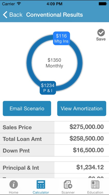 Mortgage Calculator by Sheila Ledesma screenshot-3