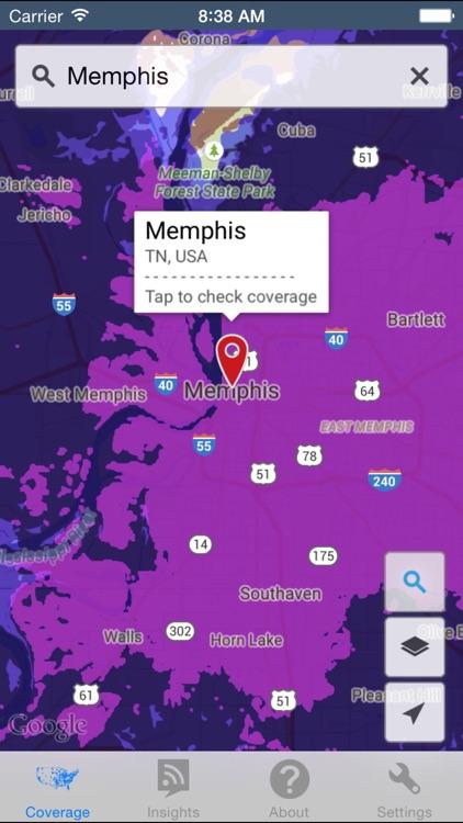 CellMaps Mobile Coverage