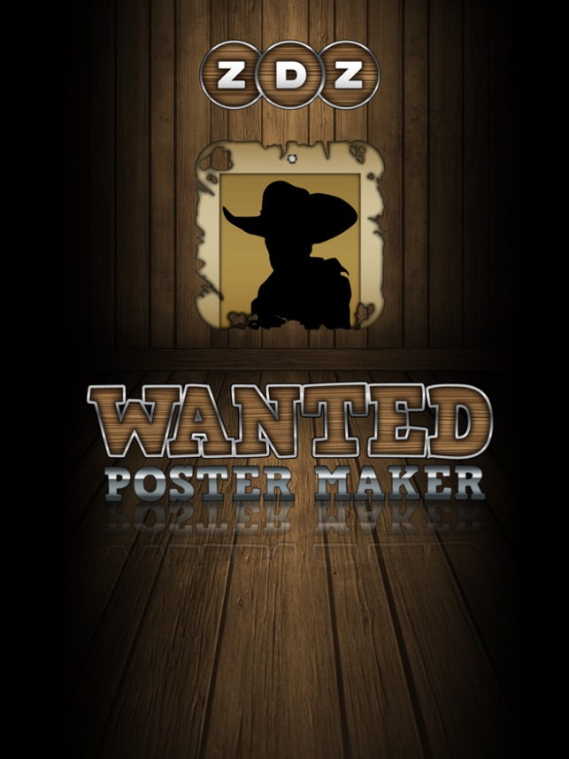 Wanted Poster Maker Photo Editor im App Store