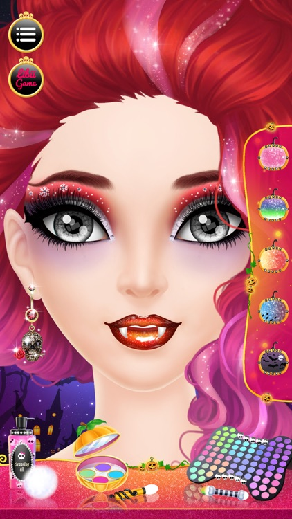 Make Up Me: Halloween - Girls Makeup, Dressup and Makeover Game screenshot-1
