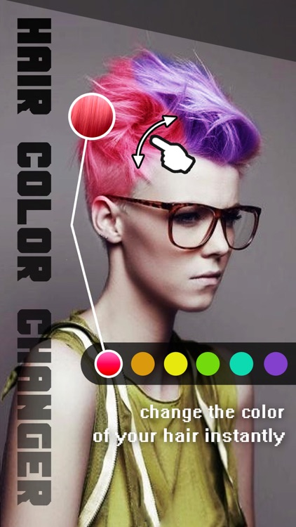 Hair Color Changer - Recolor Booth to Dye, Change & Beautify Hairstyle