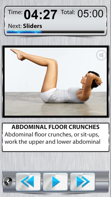 Belly Fat Workout PRO - 10 Minute Ab Exercises screenshot-0
