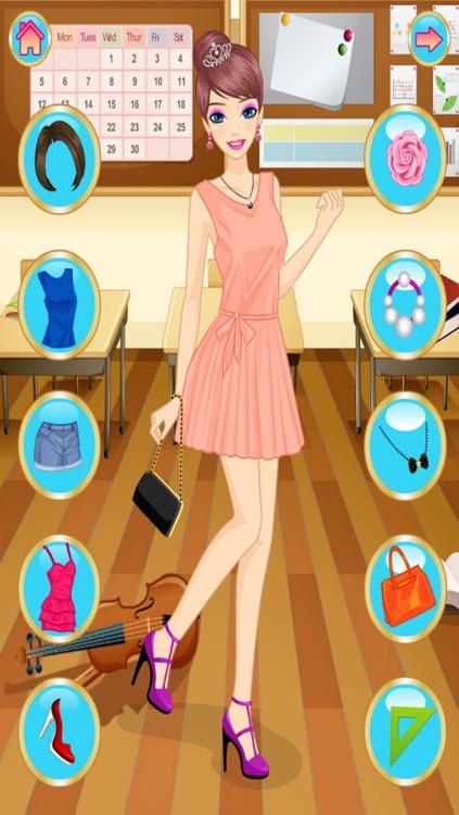 Dress Up, Girls, Back To School