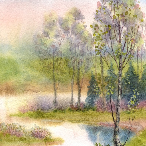 Paint a Spring Landscape in Watercolor