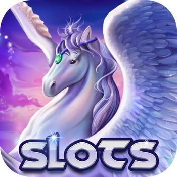 Silver Pegasus Slots: 777 Jackpot Heaven - Crown of Zeus Vegas Slot-Machines