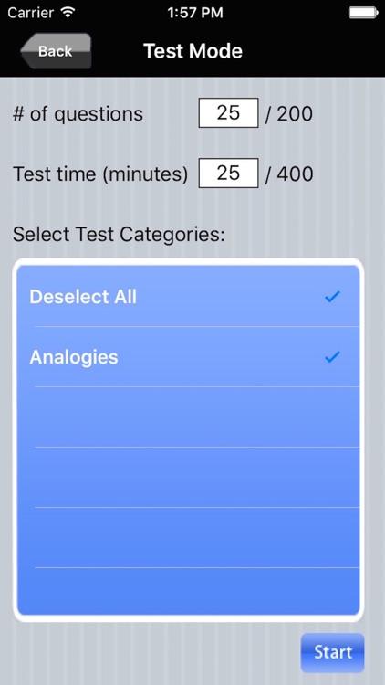 Analogies Ace - GRE Prep screenshot-3