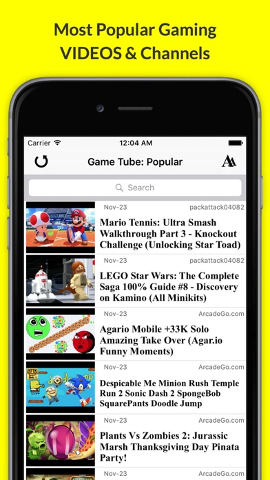 Game Tube: Latest YouTube Gaming Videos & News! screenshot one