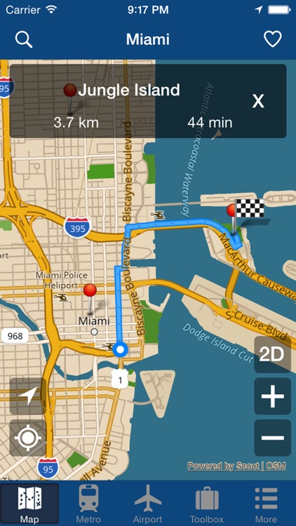 Miami Offline Map - City Metro Airport screenshot-4