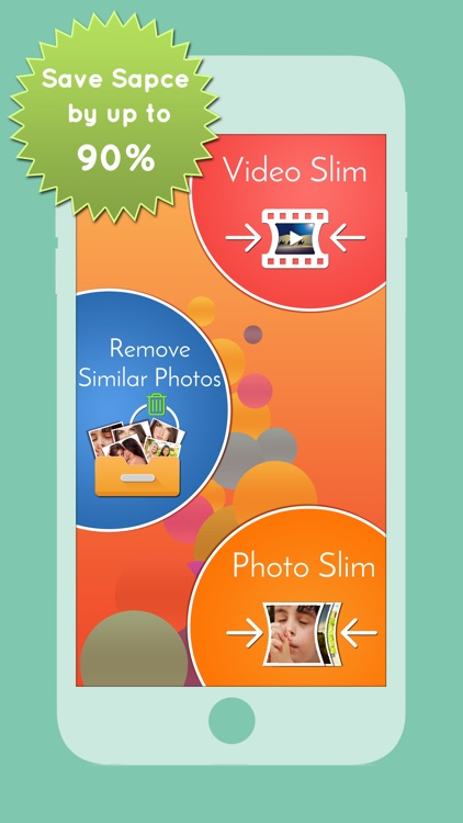 Space Saver Pro to Slim Videos, remove Duplicate Photos and reduce memory screenshot-0