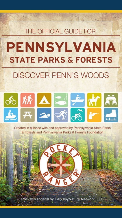 Pennsylvania State Parks & Forests Guide- Pocket Ranger®