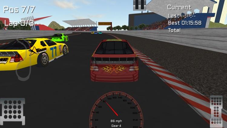 Super Stock Car Racing 3D screenshot-3