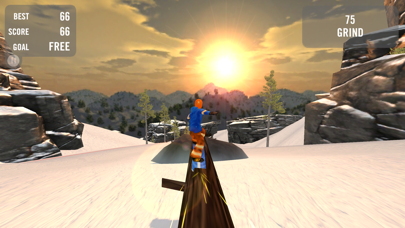 Screenshot from Crazy Snowboard Pro