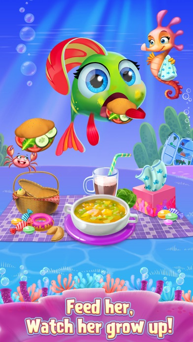 My Little Fish - Underwater Friend screenshot two
