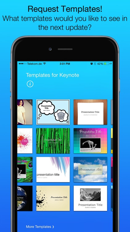 Templates for Keynote (for iPad, iPhone, iPod touch) screenshot-4