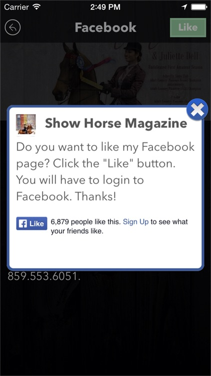 Show Horse Magazine screenshot-3