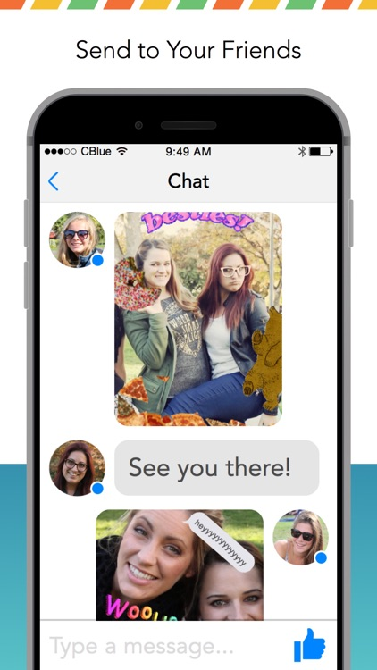 GIF CAM - Animated photo maker for Messenger