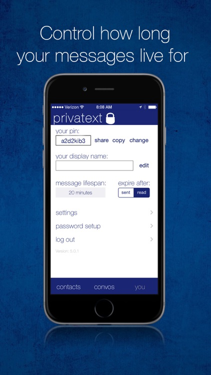 Privatext - Private Text Messaging