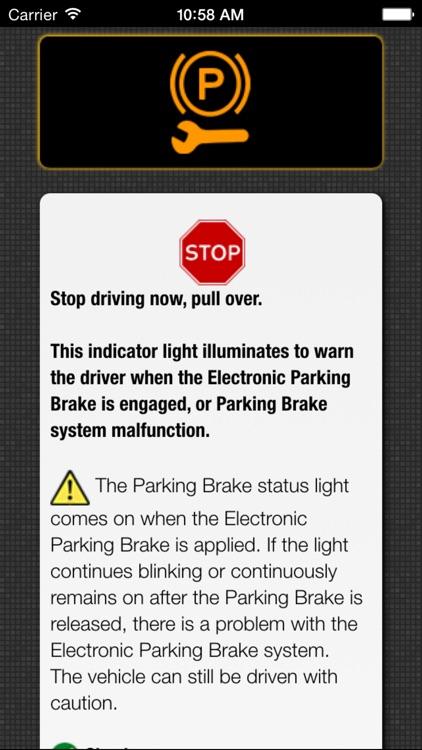 App for Volkswagen Cars - Volkswagen Warning Lights & VW Road Assistance - Car Locator screenshot-4