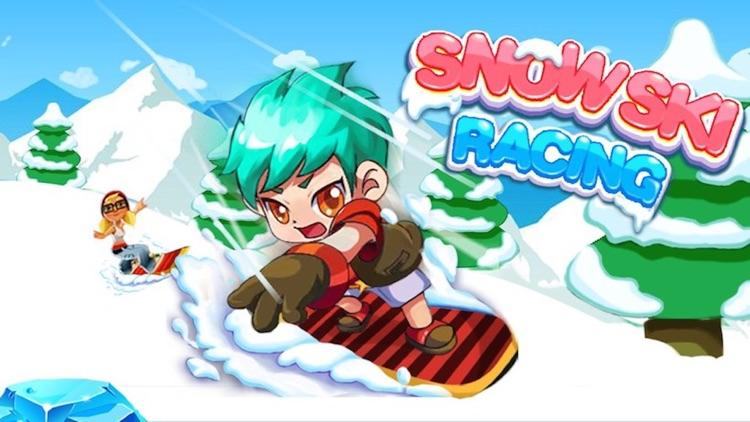 3D Ski Racing-Super Jumper Rush