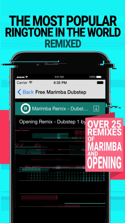 Marimba Remixed Ringtones for iPhone