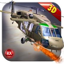武装直升机空战 - 无限混沌天空战斗猎人