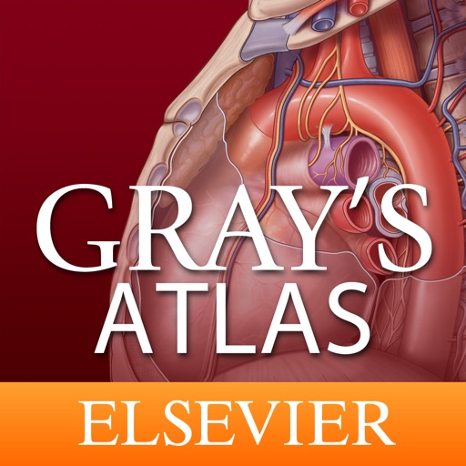 Gray's Atlas of Anatomy for iPad icon
