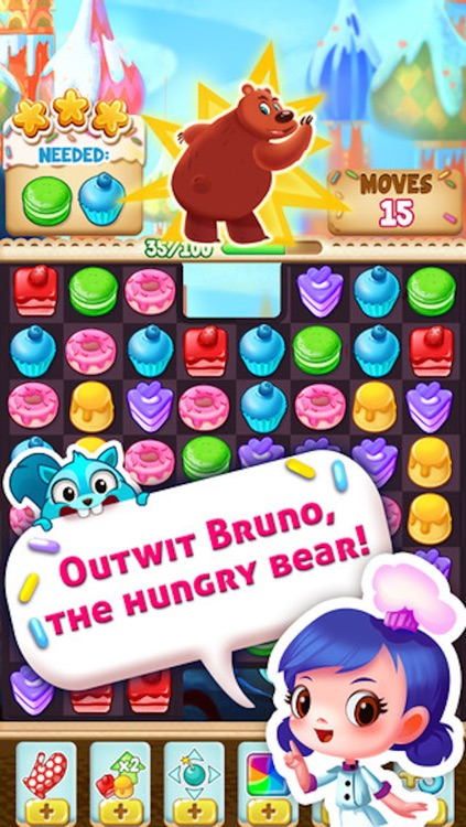 Cookie Cake Smash - 3 match puzzle game screenshot-4