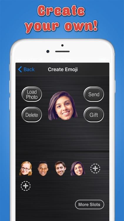 Big Emoji Keyboard - Stickers for Messages, Texting & Facebook screenshot-3